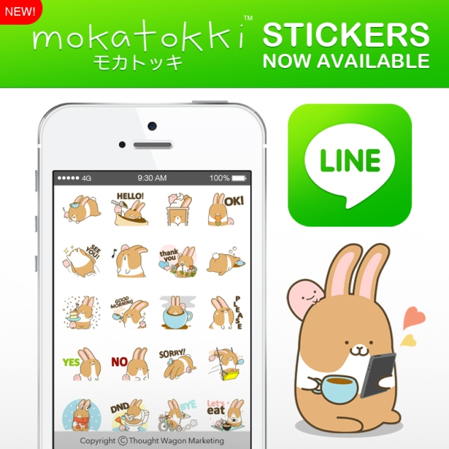 Mokatokki Stickers Post