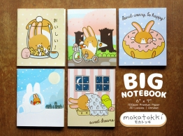 Mokatokki Post Products Big Notebooks 00