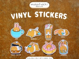Mokatokki Post Products STICKERS 01
